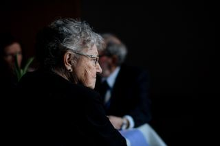 Woman Looking Reflective