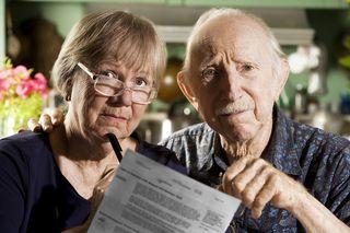 Elder Couple-Concerned