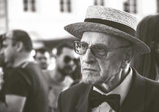 Man in Hat & Glasses