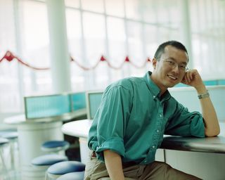 Casual Man in Office