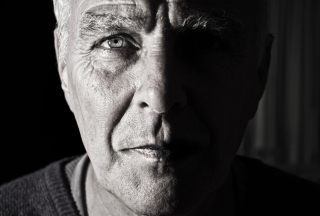 High Contrast Black & White Portrait